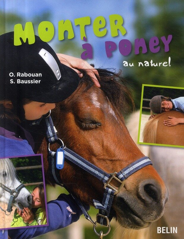 monter à poney au naturel