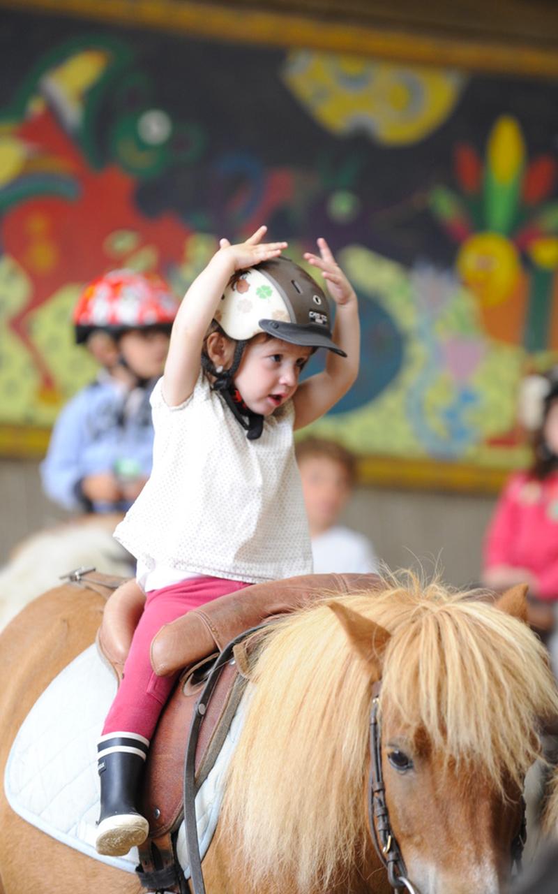 weekend équitation enfant