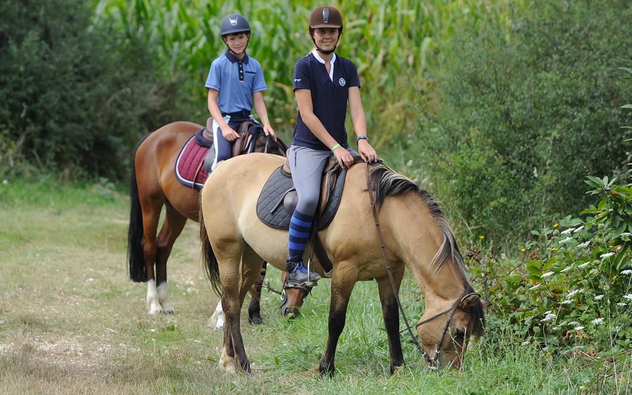 randonnées équitation