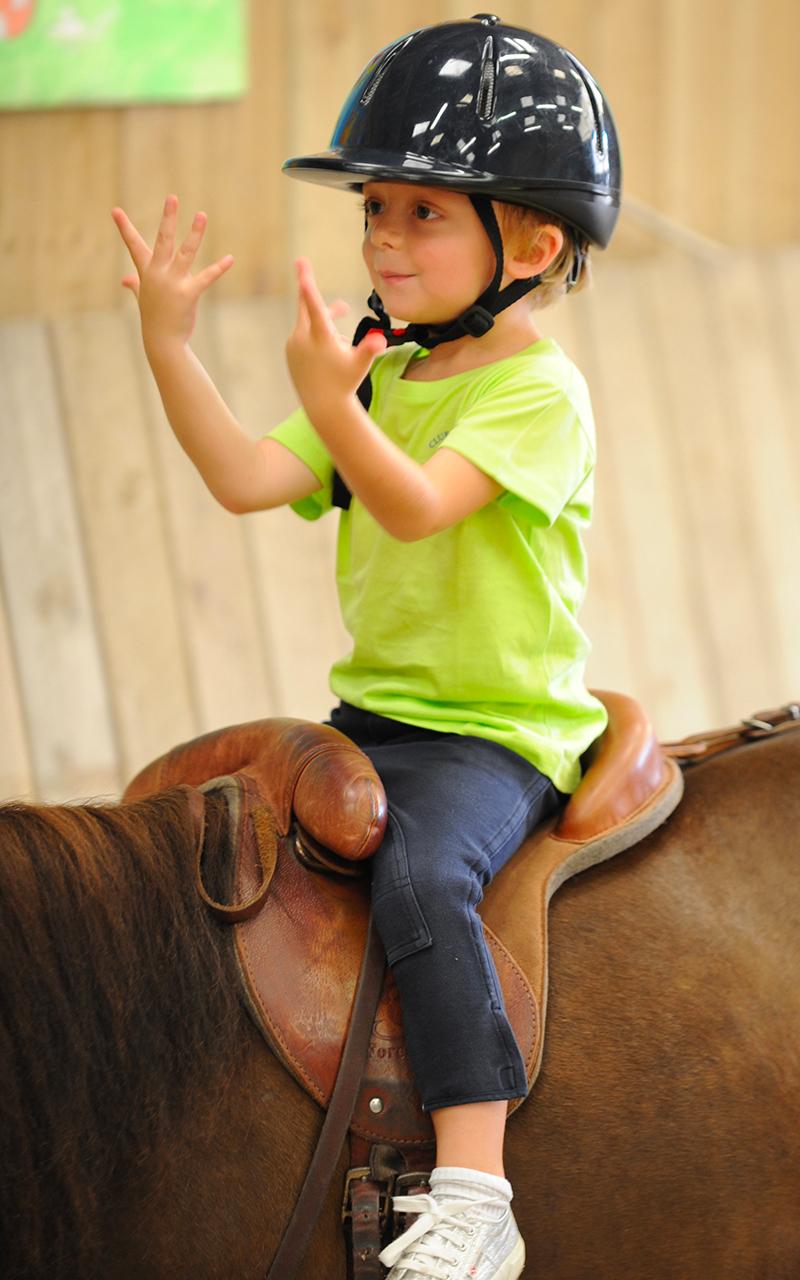 demi jounées équitation enfant
